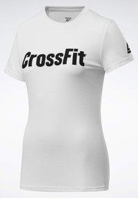 Reebok - REEBOK  READ GRAPHIC T-SHIRT - Print T-shirt - white - 2