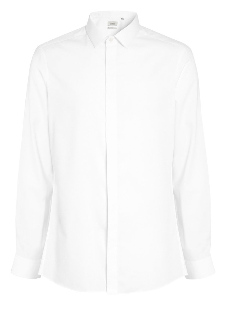 Homme TEXTURED CONCEALED PLACKET  - Chemise