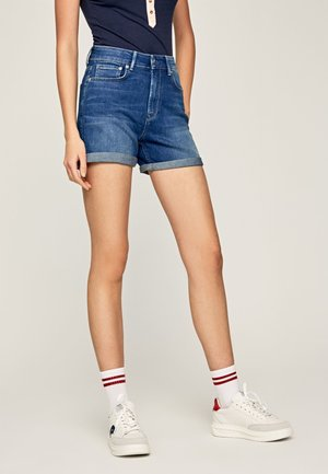 Denim shorts - denim