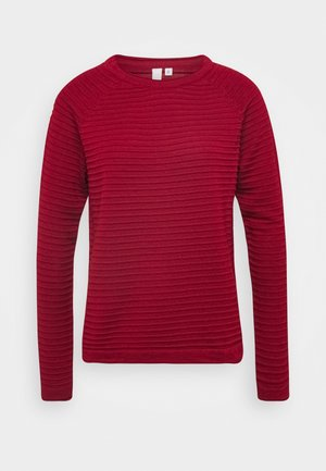 Jersey de punto - metallic red