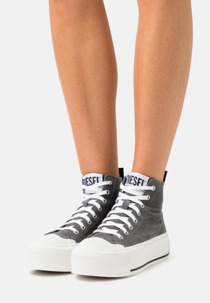 S-ASTICO DSL ML WEDG - High-top trainers - grey