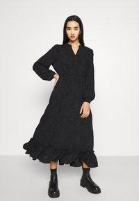 ONLY - ONLEVA MIDI DRESS - Maxi šaty - black - 0