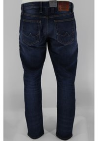 ALBERTO Pants - Slim fit jeans - vintage navy - 1