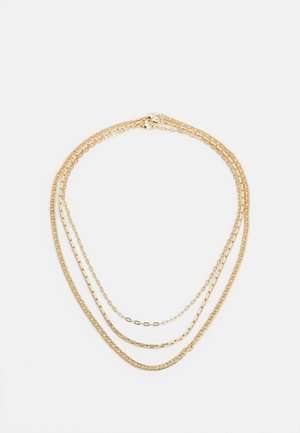 MIXED CHAIN - Necklace - gold-coloured