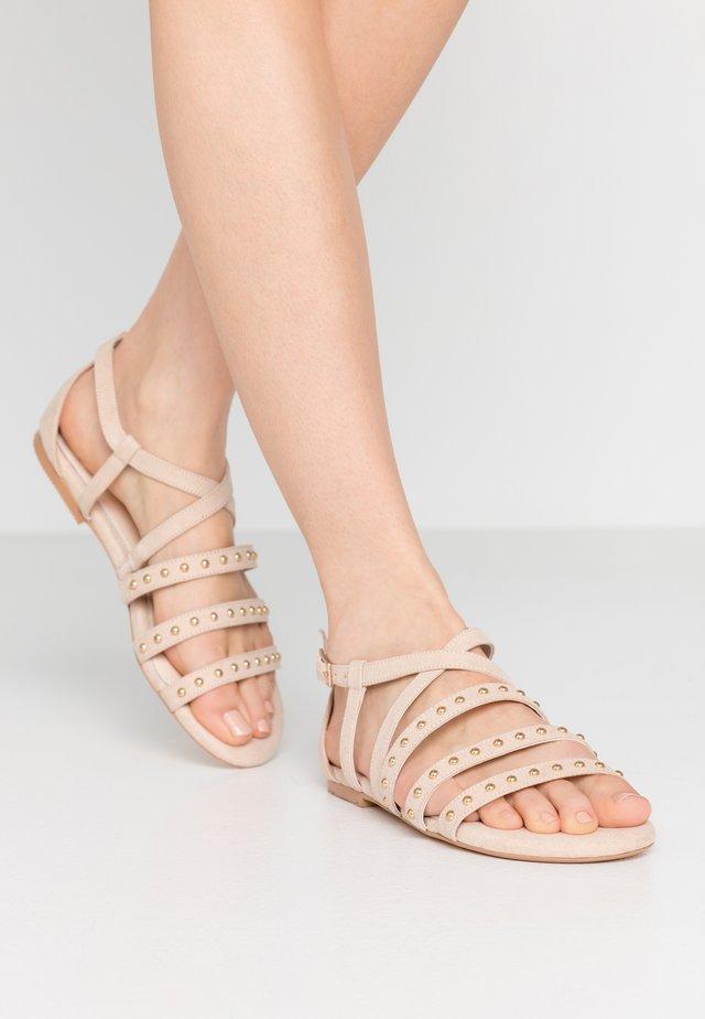 JAIN - Sandály - nude
