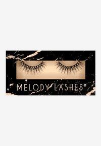 Melody Lashes - ROSE - False eyelashes - black - 0