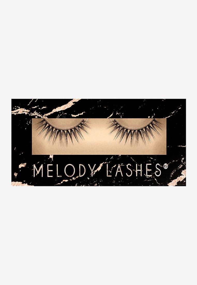 Melody Lashes - ROSE - False eyelashes - black