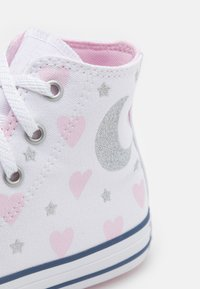 Converse - CHUCK TAYLOR ALL STAR UNISEX - High-top trainers - white/pink/black - 5