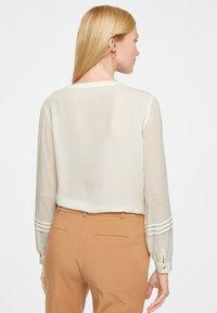 comma - Button-down blouse - white - 2