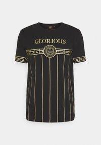Glorious Gangsta - DEBRIS  - T-shirt con stampa - black - 3