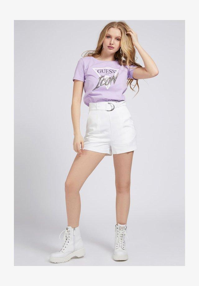 ICON TEE - T-shirt print - lila