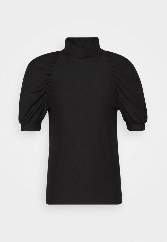 RIFA TURTLENECK - T-shirt basic - black