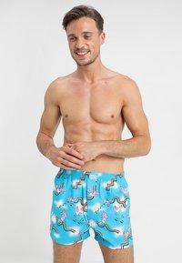 Lousy Livin Underwear - SKY GYM - Trenýrky - blue atol - 0