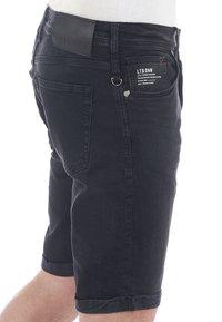 LTB - CORVIN - Denim shorts - black denim - 0