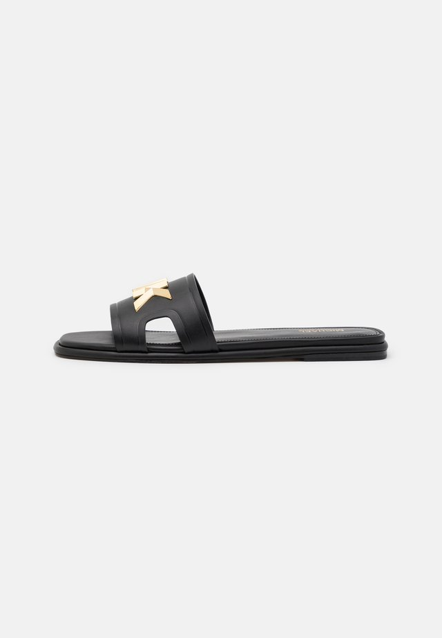 KIPPY SLIDE - Muiltjes - black