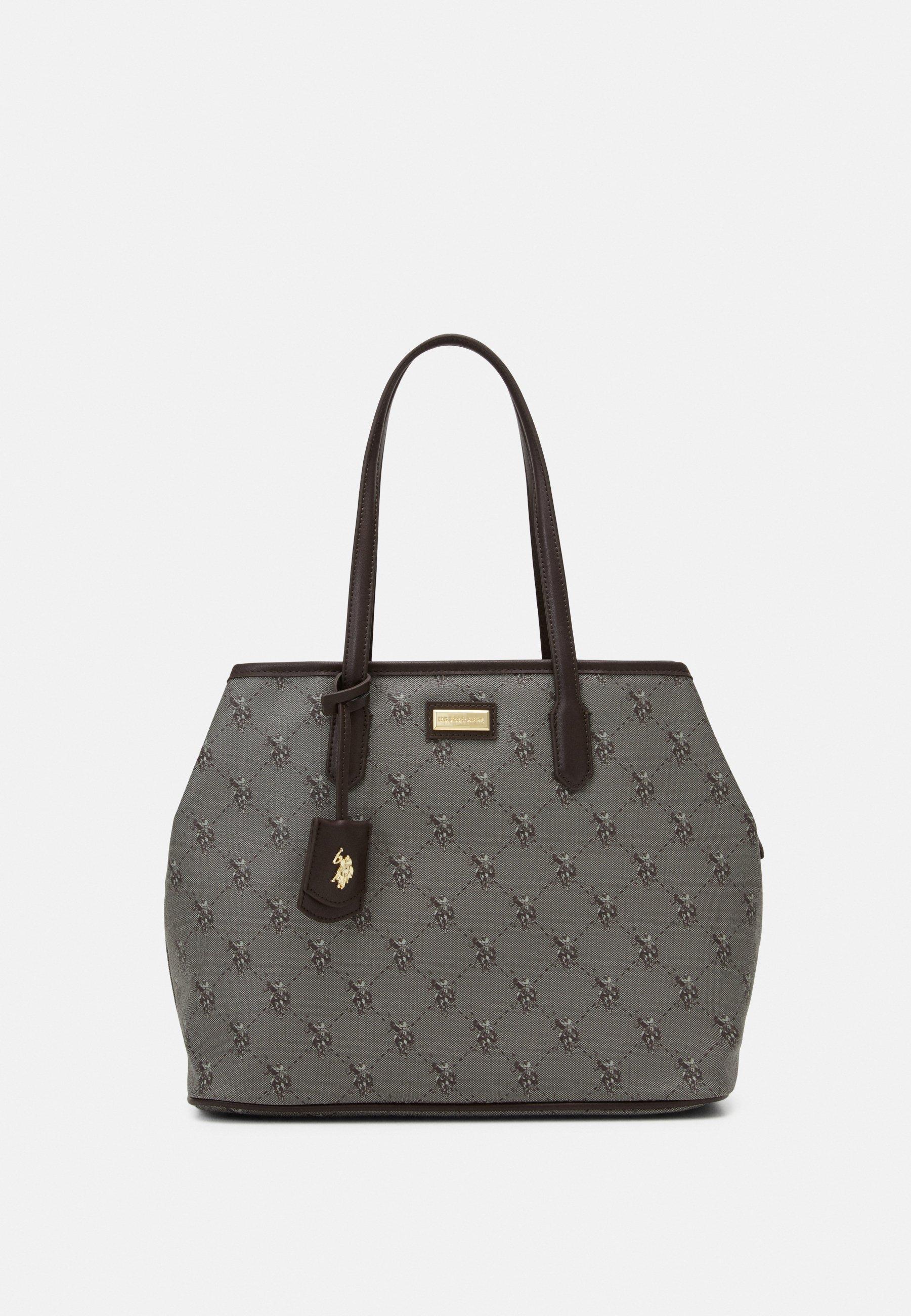 HAMPTON SHOPPING BAG PRINTED Handväska brown
