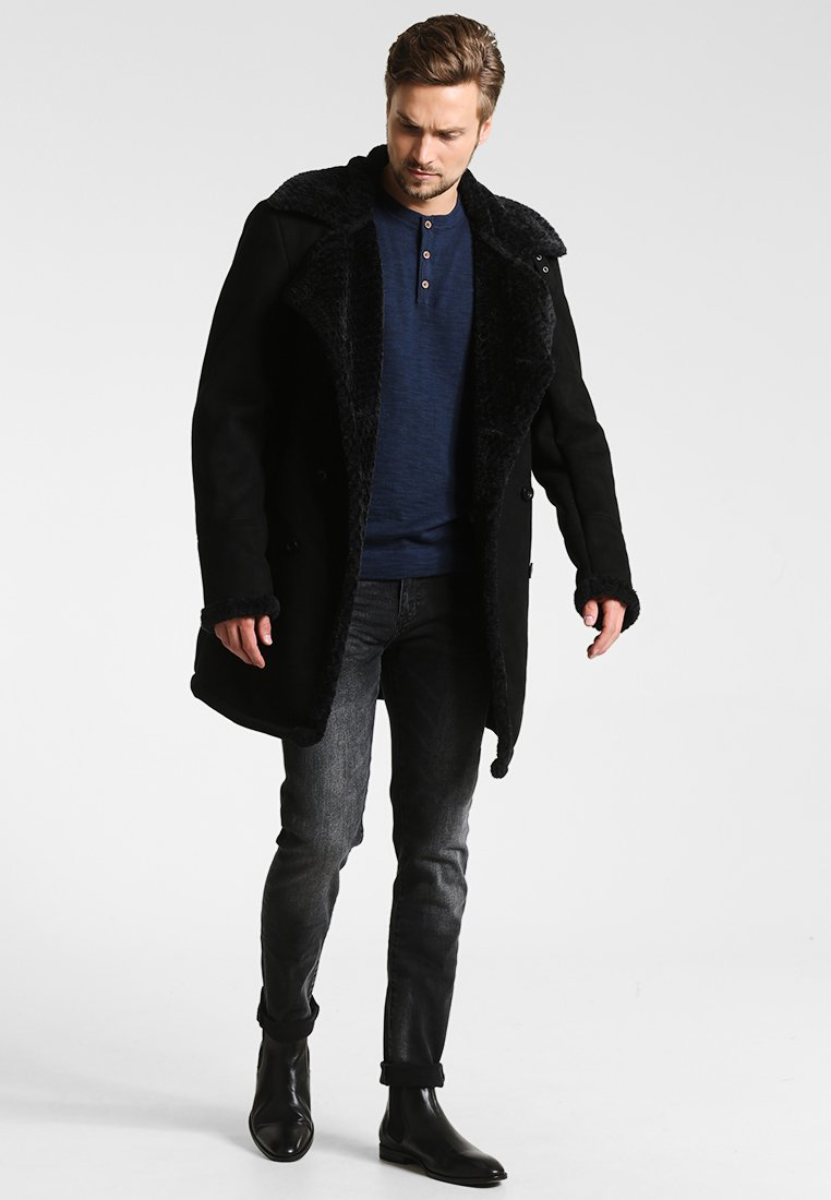 Indicode Jeans Jovani - Kort Kåpe / Frakk Black/svart