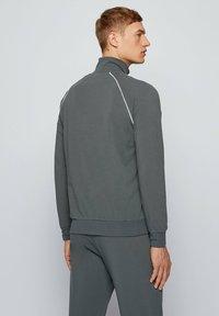 BOSS - Zip-up hoodie - dark green - 2