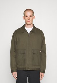 Dickies - UTILITY EISENHOWER - Summer jacket - moss green - 0
