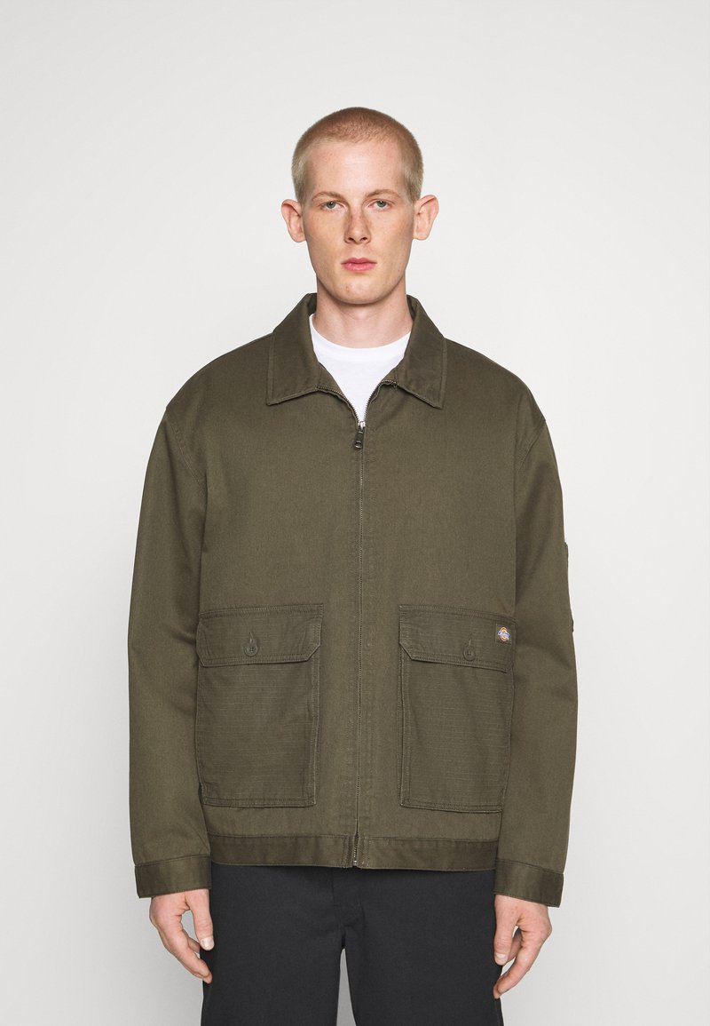 Dickies - UTILITY EISENHOWER - Summer jacket - moss green