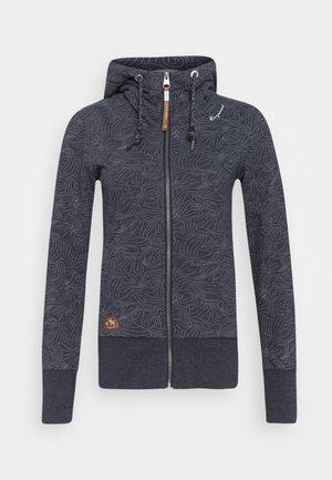 YODA ZIP ORGANIC - Zip-up hoodie - navy
