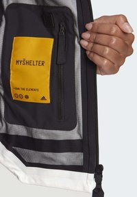 adidas Performance - MYSHELTER URBAN RAIN.RDY OUTDOOR - Waterproof jacket - white - 6