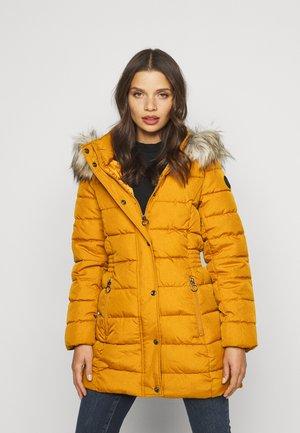ONLLUNA QUILTED COAT - Classic coat - pumpkin spice