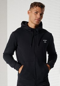 Superdry - Sweatjacke - black - 3