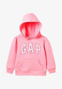GAP - TODDLER GIRL ARCH POP  - Mikina skapucí - pink pop neon - 4