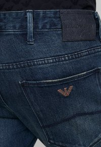 Emporio Armani - Jeans slim fit - denim blu - 4