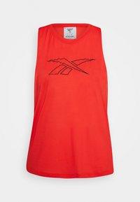Reebok - TANK - Camiseta de deporte - red - 4