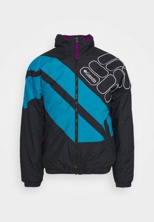 SIDELINE - Winter jacket - black/fjord blue