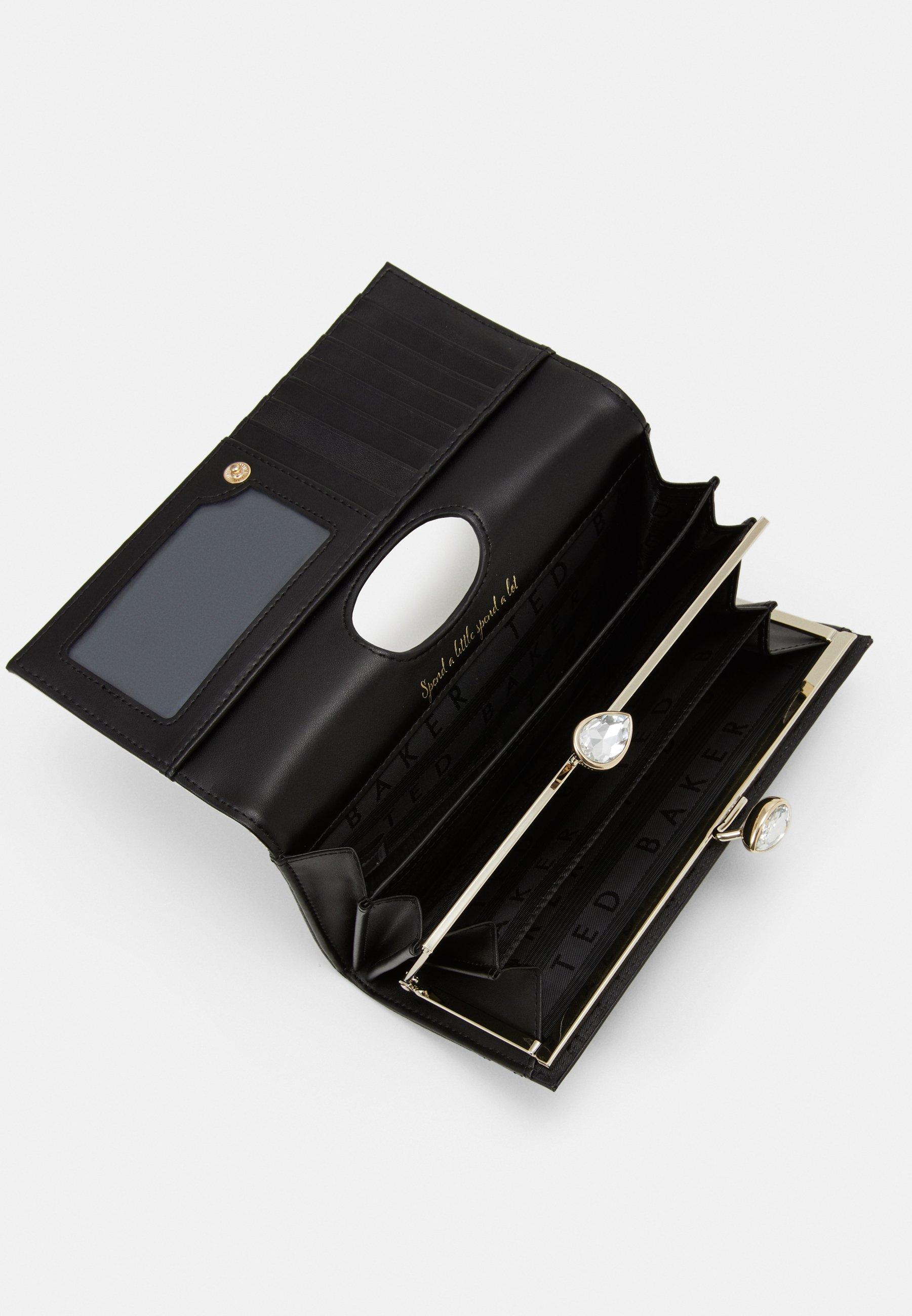 Acheter le plus récent Meilleurs prix Ted Baker ELDERFLOWER TEARDROP BOBBLE MATINEE - Portefeuille - black - ZALANDO.FR MQoEr