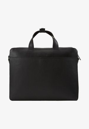 LEATHER - Torba na laptopa - black