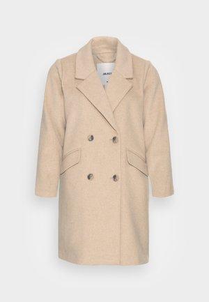OBJKENIA COAT  - Cappotto classico - sandshell melange