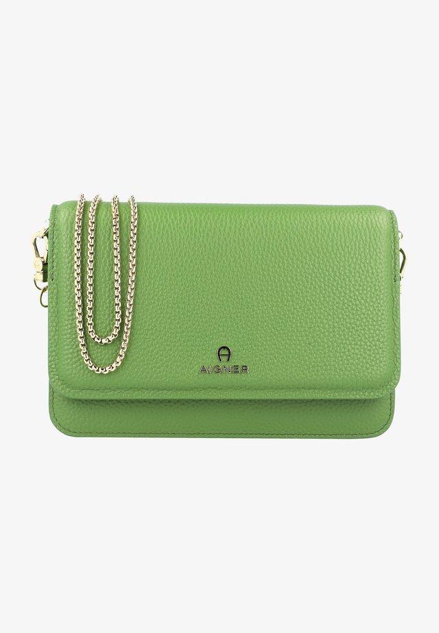 Across body bag - matcha green