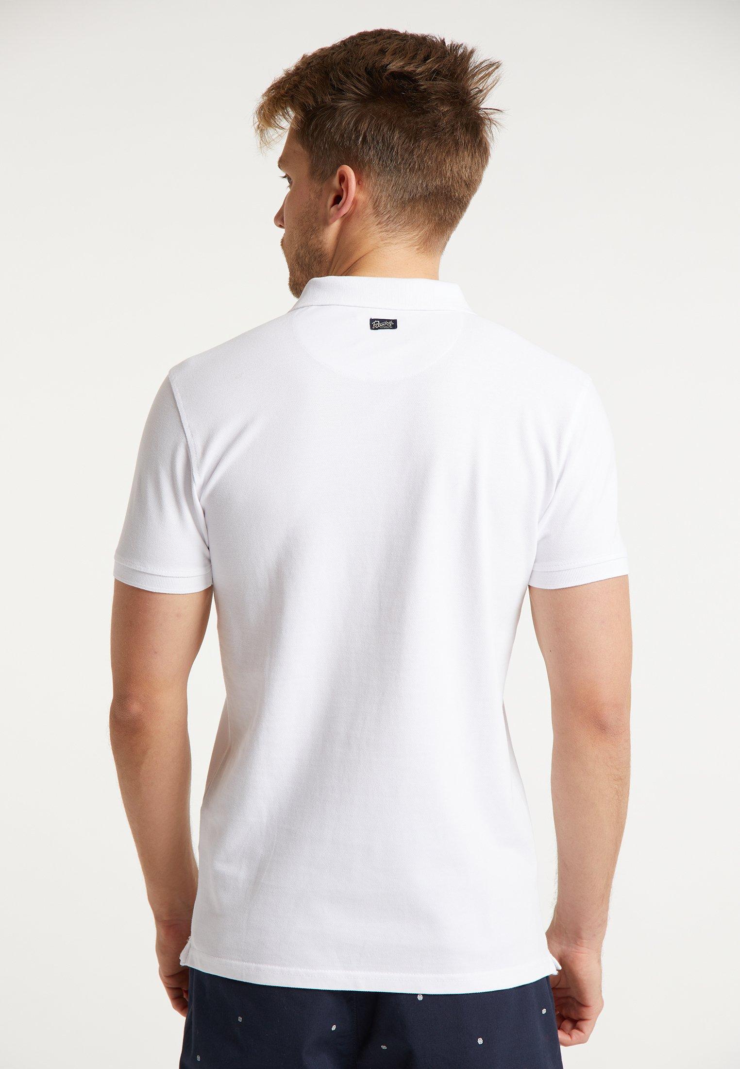 Petrol Industries Polo shirt - bright white KNHdg