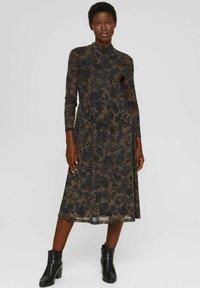 Esprit Collection - AUSGESTELLTES  - Day dress - dark brown - 1