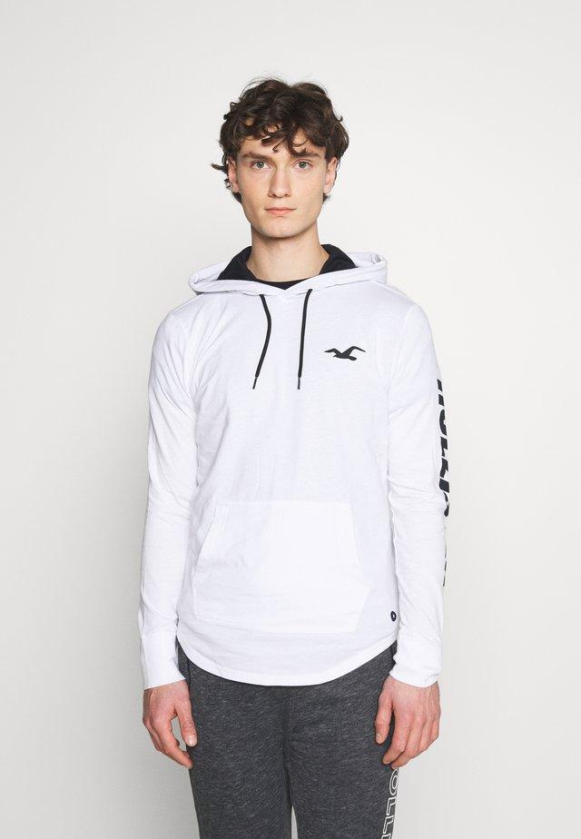 HOOD - Long sleeved top - white
