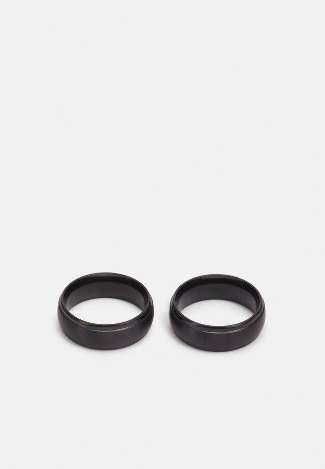 2 PACK - Prsten - black