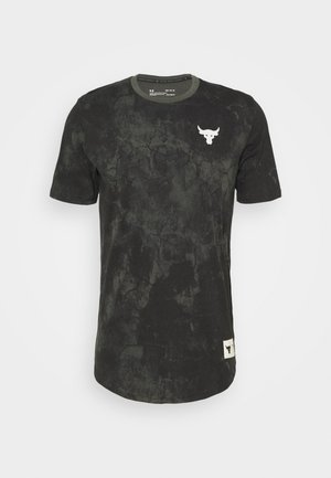 ROCK ALLOVER - T-shirt con stampa - baroque green
