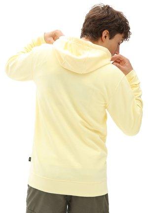 MN ORIGINAL DNA SIDESTRIPE PO - Hoodie - mellow yellow