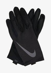 Nike Performance - PRO WARM MENS LINEAR GLOVES - Gloves - black/dark grey - 1