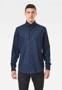G-Star - PANELLED POCKET SLIM - Overhemd - sartho blue - 0