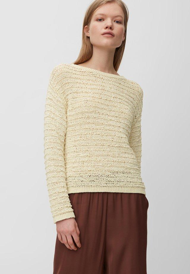 MIJA - Pullover - clear white