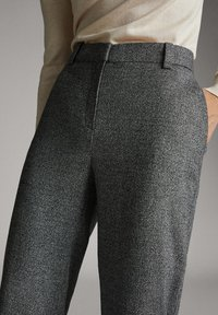 Massimo Dutti - Trousers - black - 3