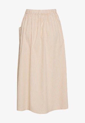 SLFROSE SKIRT - A-line skirt - birch/caramel