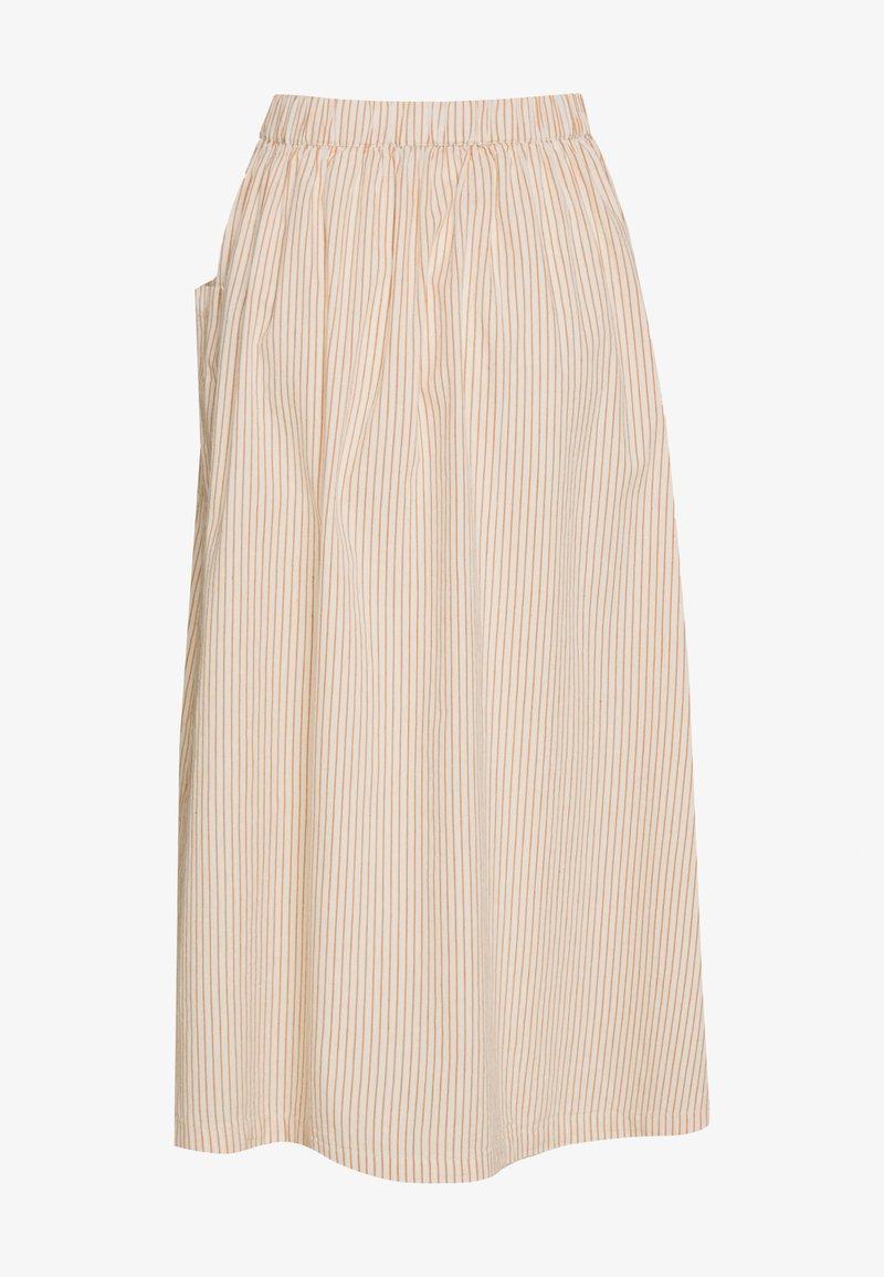 Selected Femme - SLFROSE SKIRT - A-line skirt - birch/caramel