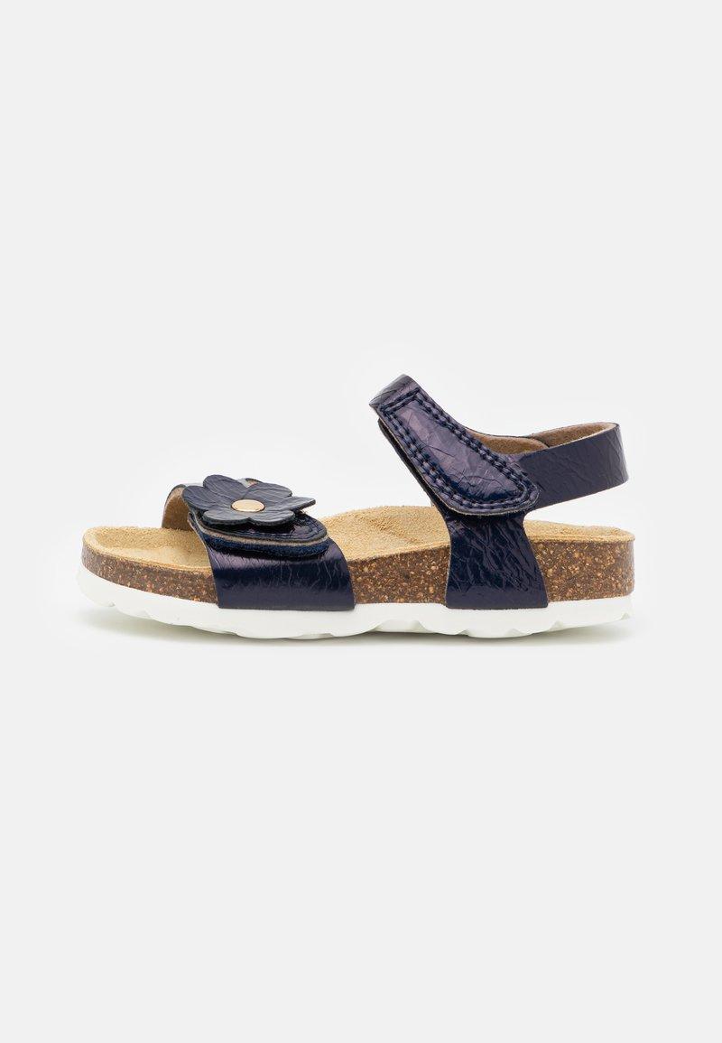 Superfit - FUSSBETTPANTOFFEL - Sandals - blau
