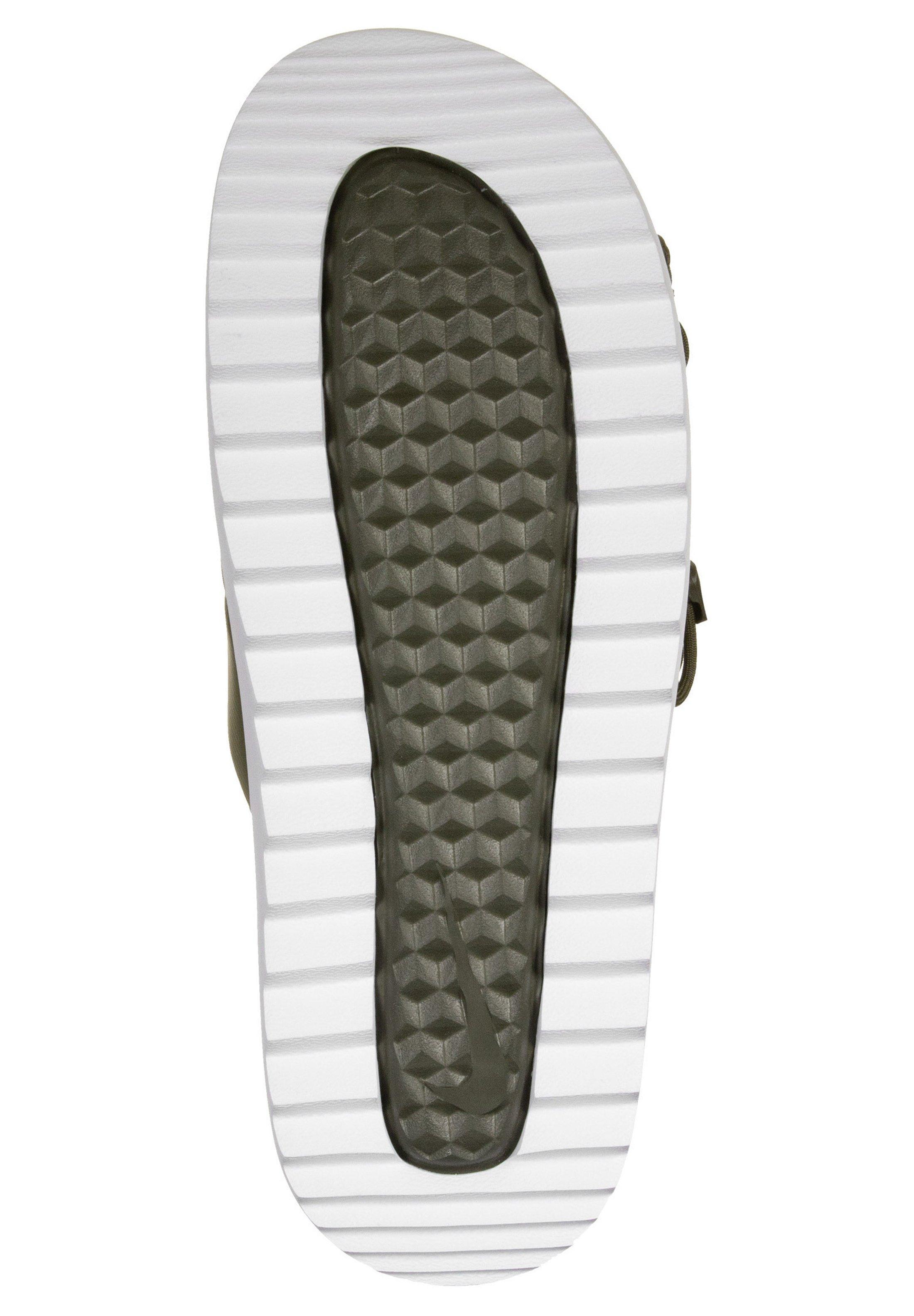 Nike Sportswear CITY - Badesandale - cargo khaki/light cream/oliv - Herrenschuhe UsPHN